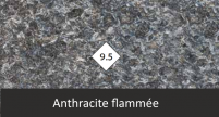Finition Anthracite flammée