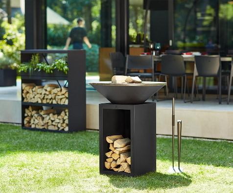 brasero barbecue Classic storage 85 black